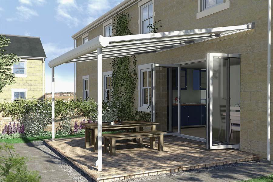 Ultraframe pergola conservatory roof shaws of brighton