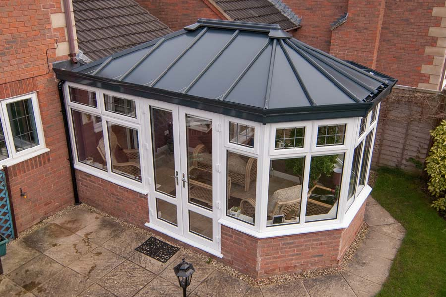 Ultraframe solid conservatory roofs shaws of brighton