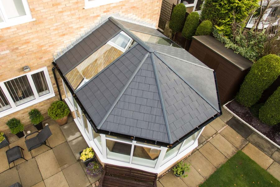 Ultraframe tiled conservatory roofs shaws of brighton