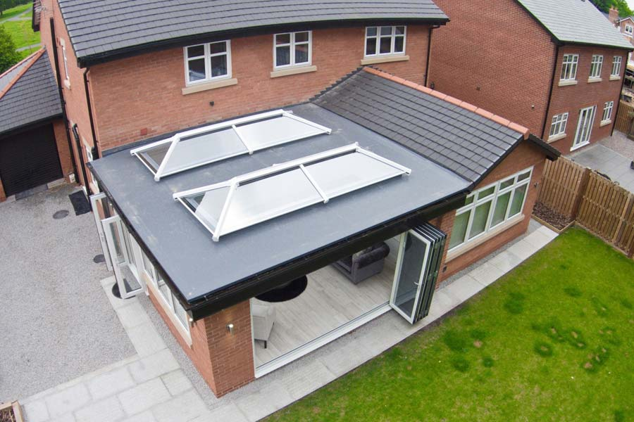Ultraframe ultrasky conservatory roof lantern shaws of brighton