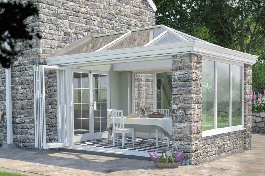 Ultraframe ultrasky conservatory roof shaws of brighton