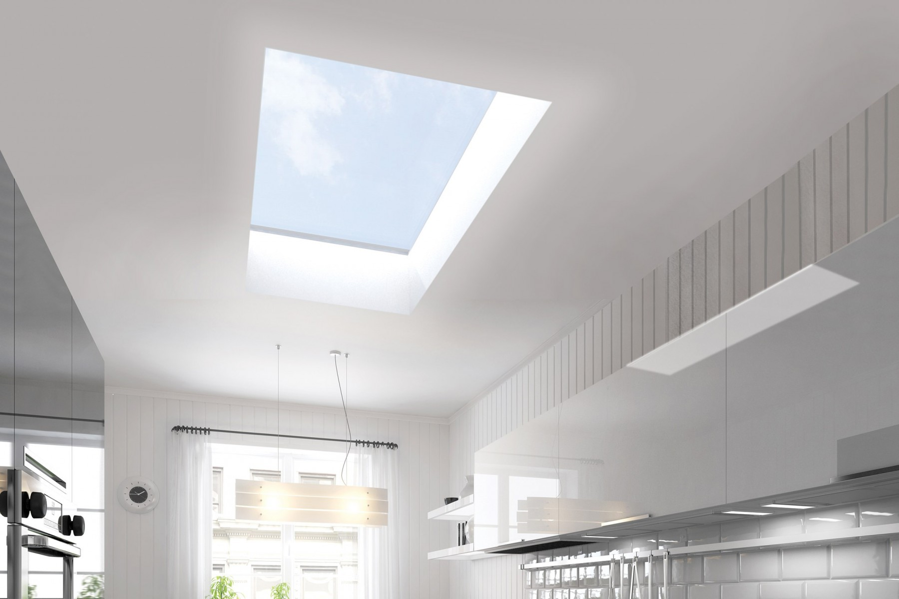 Ultrasky Flat Skylights Ultraframe Roof Systems Shaws