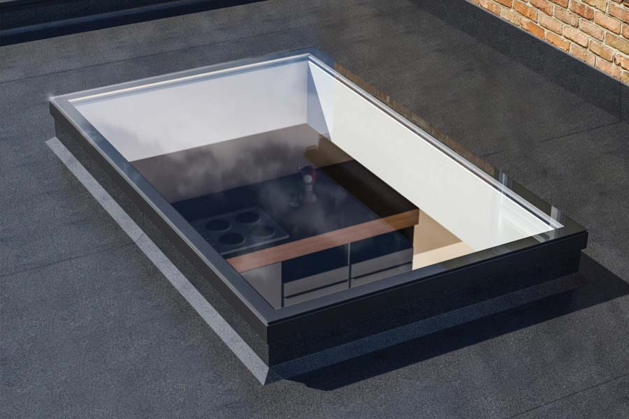 Ultraframe ultrasky flat skylights shaws of brighton