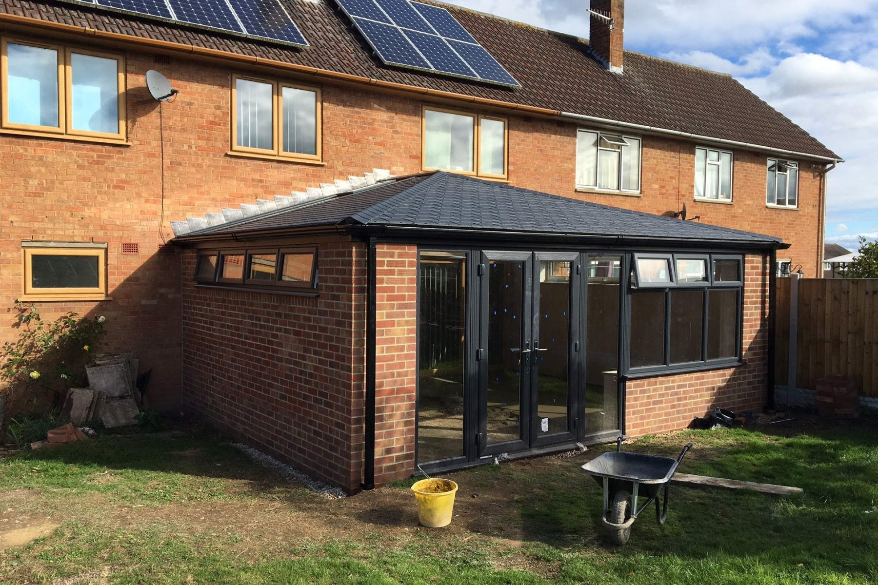 Solid Conservatory Roofs Ultraframe Roof Systems Shaws