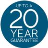 20 year guarantee icon