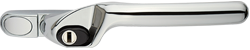 Crank handle chrome