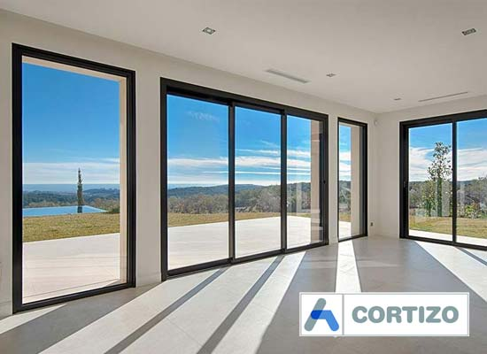 Cortizo 4700 sliding door system