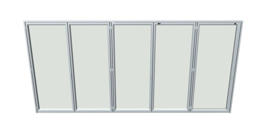 Sunflex bi folding door sf55 Hotspot Image