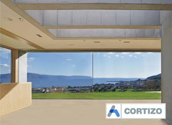 Cortizo cor vision plus sliding door system