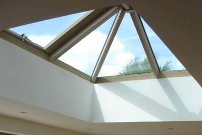 Double hipped roof lights 4