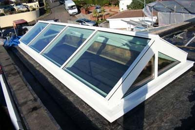 Double pitched roof lights 6