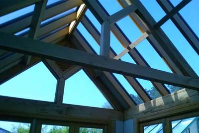 Gable ende rooflight 1