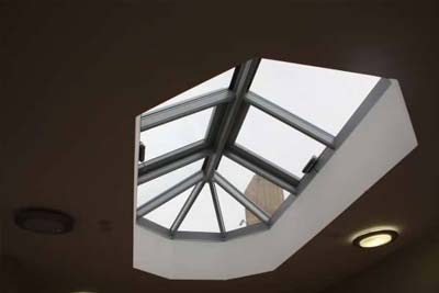 Multi faceted rooflights 2