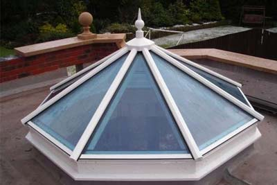 Octagon roof light 4