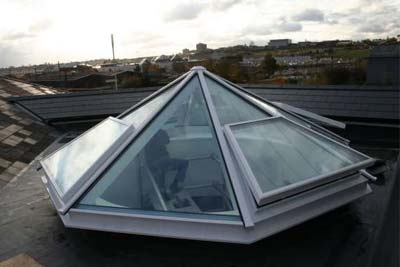 Octagon roof light 5