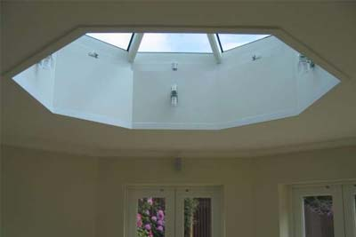 Octagon roof light 7