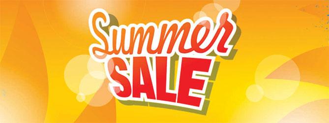 Shaws summer sale banner
