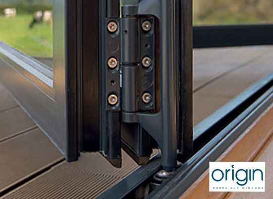 Origin ob 49 bi fold door slider with logo