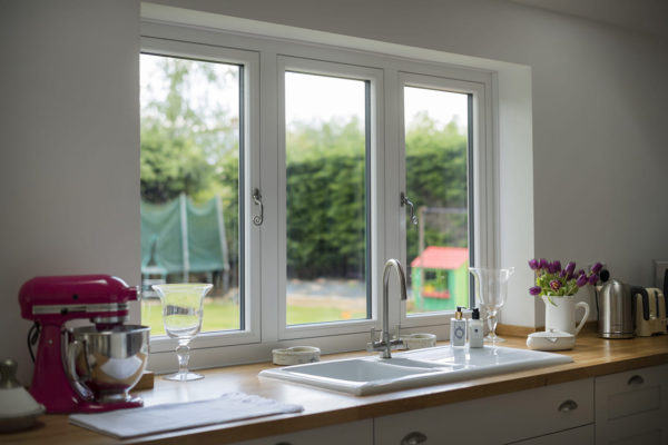 Residence 7 kitchen window set alternative to timber