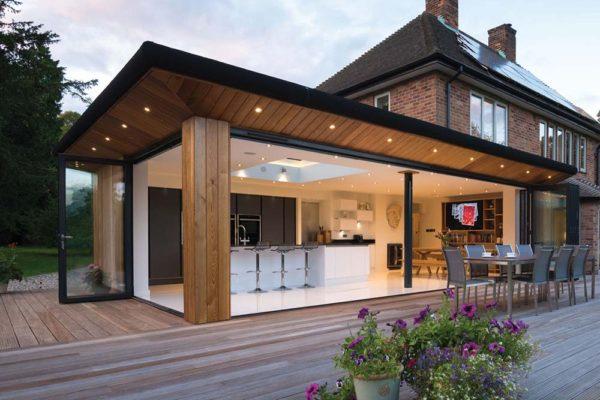 large home ob 49 bi fold conservatory Origin