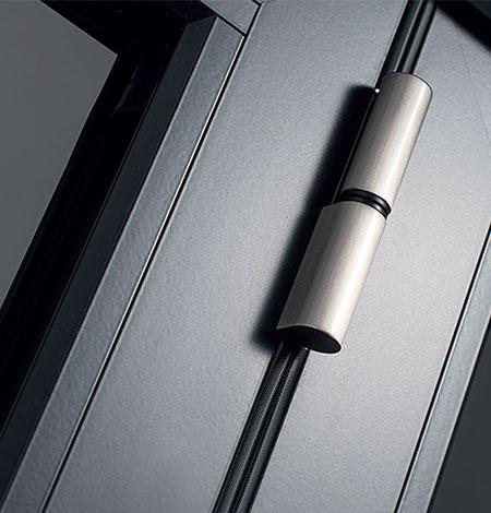 Safe bi fold door lock test