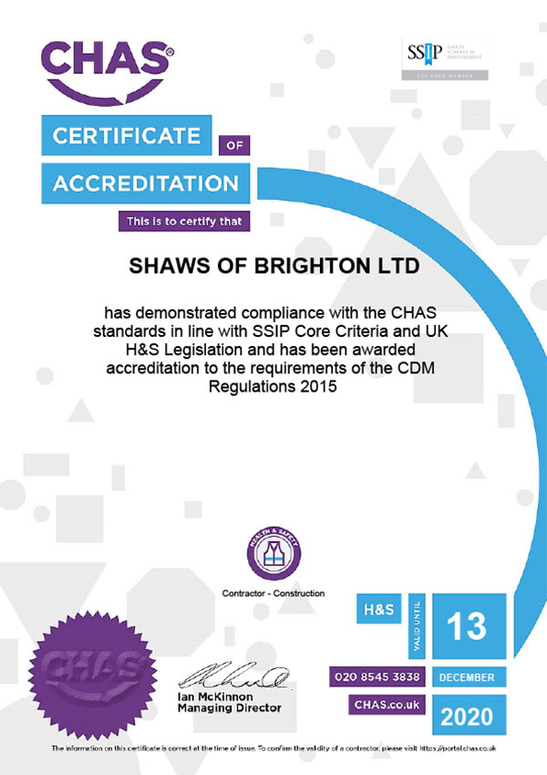 Chascertificate