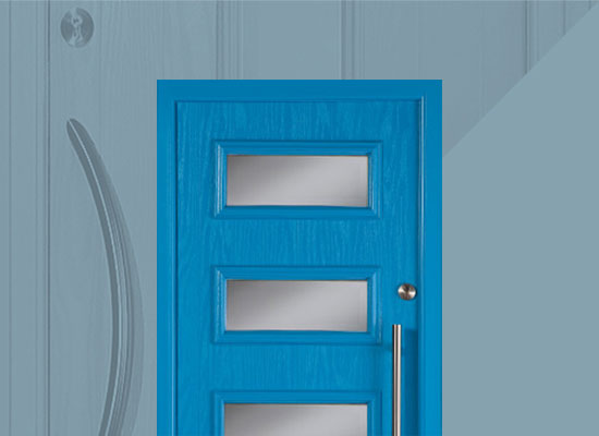 Apeer contemporary style door range