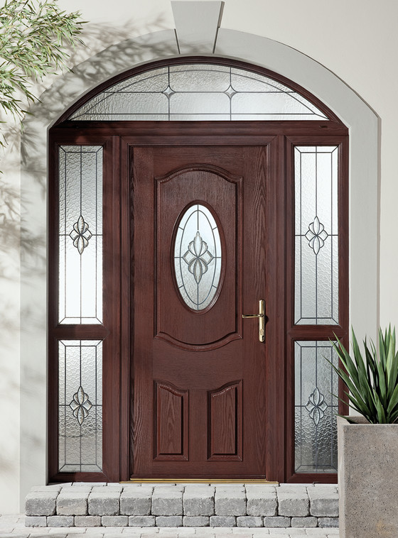 Apeer traditional composite door 6