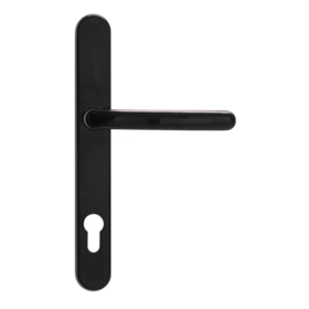 Classic lever handle black