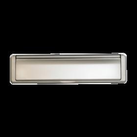 Letterbox satin silver