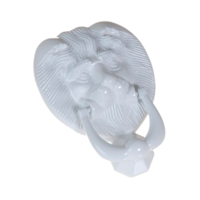 Lionshead knocker white