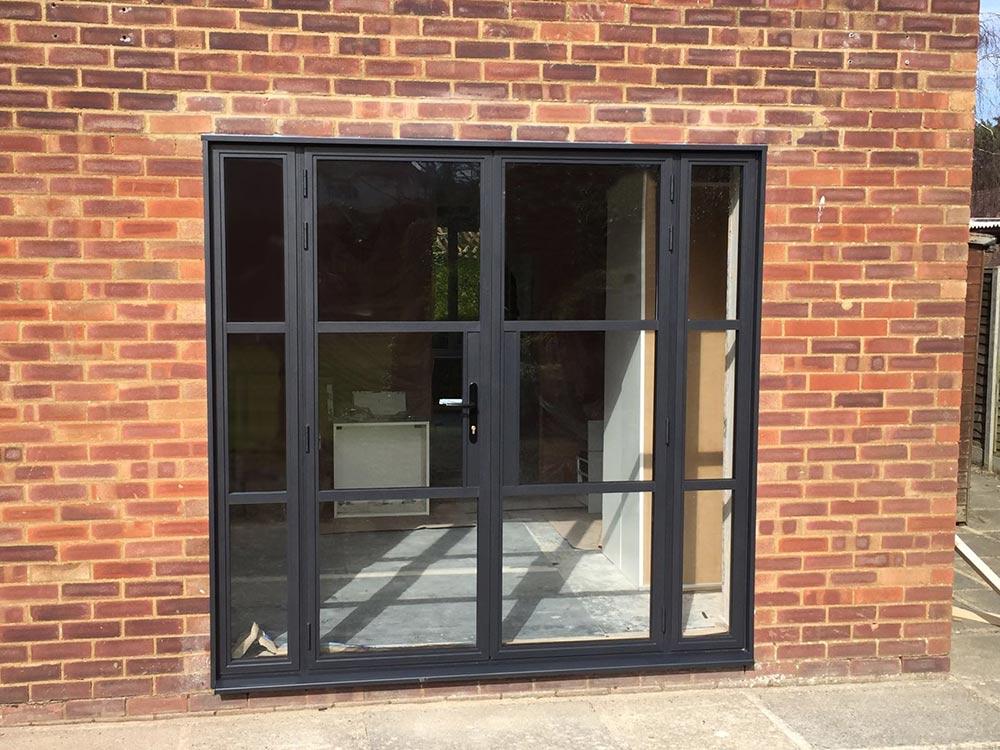 Alitherm heritage doors slim sightlines