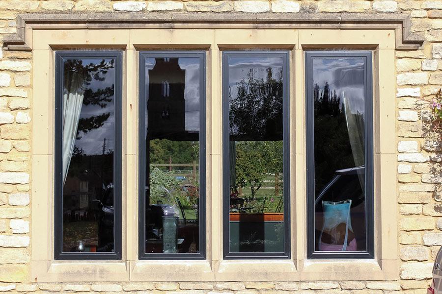 Alitherm heritage windows slim sightlines