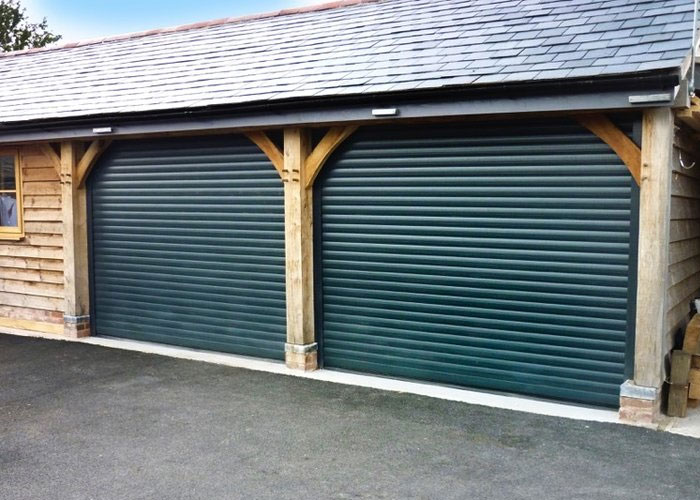 Choices compact secureroll garage door