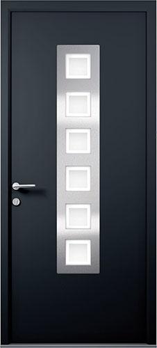 anthracite grey apeer smooth composite door