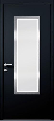 black apeer smooth composite door